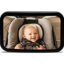 Eximtrade Adjustable 360° Rotation Back Seat Mirror Convex Shatterproof Glass Rear View Baby - Auto Per Bambini View Mirror