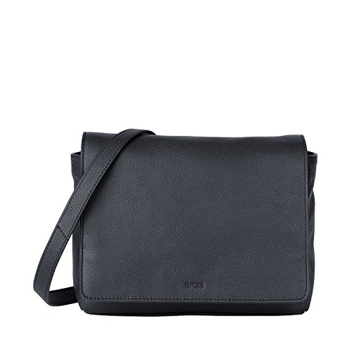 Bree Cary 11 Tracolla In Pelle 25 Cm Blu (navy)