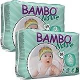 Bambo Nature Nappies TWIN Pack - Mini (Size 2)