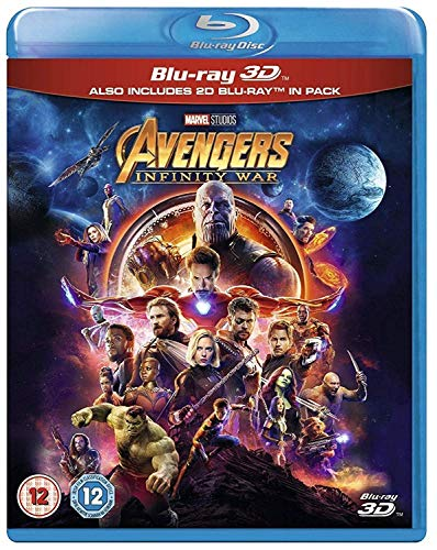Marvel's Avengers: Infinity War (3D Blu-ray + Blu-ray)