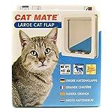 Rosewood 11029 CatMate Katzenklappe, groß, weiß