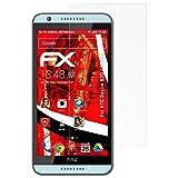 atFolix Panzerschutzfolie für HTC Desire 820 / 820G+ Panzerfolie - 3 x FX-Shock-Antireflex blendfreie stoßabsorbierende Displayschutzfolie