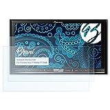 Bruni Schutzfolie für Pioneer Avic-F70DAB/F77DAB Folie - 2 x glasklare Displayschutzfolie