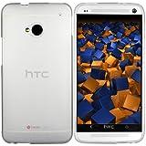 mumbi TPU Schutzhülle für HTC One Hülle halbtransparent milchig weiss (NICHT HTC One M8)