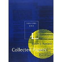 Collected Papers (Robert J. Aumann)