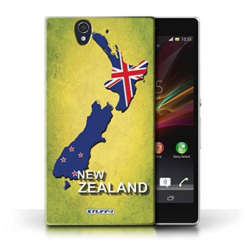 Kobalt® Imprimé Etui / Coque pour Sony Xperia Z / Espagne/Espagnol conception / Série Drapeau Pays nouvelle Zélande