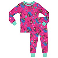 Shimmer & Shine Girls Pyjamas - Snuggle Fit - Age 5 To 6 Years
