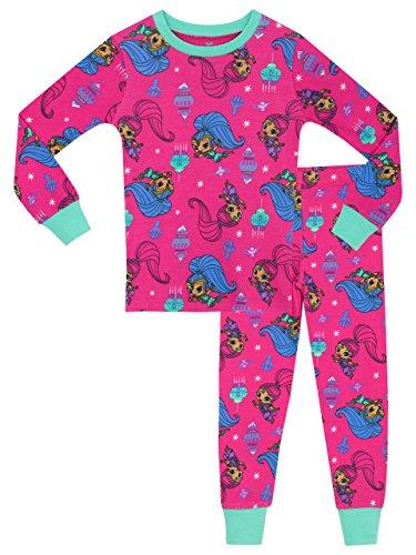 Shimmer & Shine Mädchen Shimmer und Shine Schlafanzug 116 (Kleine Pyjama-hose)