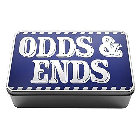 Bleu royal odds & Extrémités Stuff Boîte fils objets Boîte de rangement en métal Box A027filtre