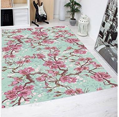 Oedim Tappeto Stampa Tulipani rosa Francesi in PVC 95 95 95 x 200 cm   Tappeto in PVC   Pavimento in Vinile Decorazione Domestica 0d38cf