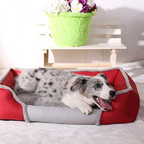 ehütte Hunde und Katzen Warm Schlafplatz Haustier Haus Puppy Dog Cat House Kennel Indoor Animal Pet Shelter Removable Foldable (90 Kostüme Zum Verkauf)