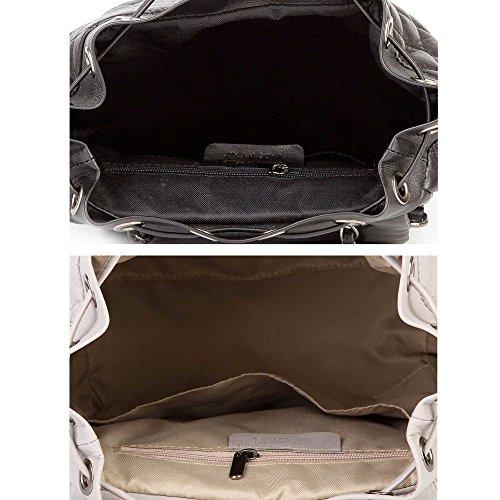 8da3306921f35 ... elegante Einkaufstasche SINDY Chevron Monogramm Matelassé Handtasche