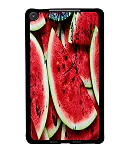 PrintDhaba WaterMelon D-3437 Back Case Cover for ASUS GOOGLE NEXUS 7 2013 (Multi-Coloured)