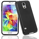 Bingsale TPU Case Samsung Galaxy S5 / Samsung Galaxy S5 Neo Silikon Tasche Hülle - Silicon Protector Schutzhülle (samsung galaxy s5, schwarz)
