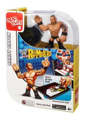 Mattel WWE Rumblers Lernhülle Randy Orton Figur (Tna Spielzeug Wwe)