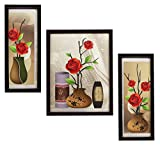 #3: 3 PIECE SET OF FRAMED WALL HANGING ART PRINTS PAINTINGS