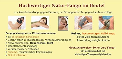 Reinster Jura Fango, Bad Boller Naturfango, Fangopackung für therapeutische Heilanwendungen