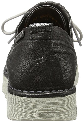 Yellow Cab Crispy W, Chaussures Lacées  femme Gris (anthracite)