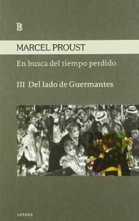 En Busca Del Tiempo Perdido Iii - Del Lado De Guermantes par Marcel Proust