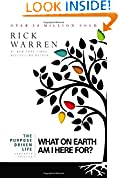 #10: The Purpose Driven Life: What on Earth Am I Here For?