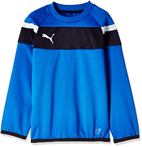 PUMA Kinder Sweatshirt Spirit II Training Sweat, royal-white, 128, 654656 02