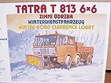 SDV LKW Truck Tatra T-813 6x6 Winterdienstfahrzeug Kunststoff Modellbausatz 1:87 H0