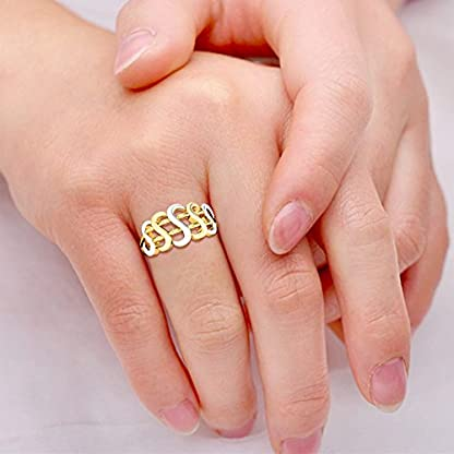 Candere By Kalyan Jewellers 22k (916) Yellow Gold Siddhi Ring