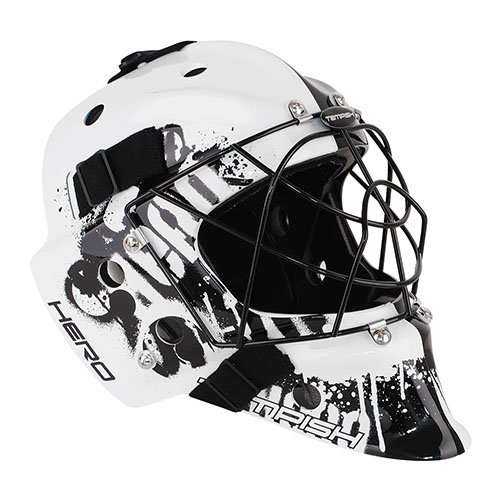 TEMPISH Hero Portero mask (Negro/Blanco - Senior)