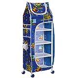 #5: Divi Divine Baby Folding Wardrobe (5 shelves) Blue