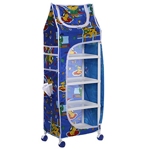 Archana Nhr Supreme Blue Plastic Kids Almirah (5 Shelf)