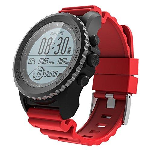 S968 Smart Watch Schwimmen Sport Band Fitness Track Uhr Passometer GPS Kompass IP68 für iPhonne SE 7 8 Xiaomi Track Kompass