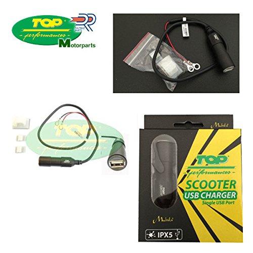 PRESA CONNETTORE CARICA BATTERIE USB 12 24V SUZUKI SV 650 S MOTO E SCOOTER