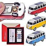 CHAMP VW Bulli T1 - Briquet USB à Piles Allume-Cigare avec câble de Charge USB