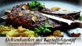 Ochsenkotelett mit Kartoffelstampf – 8 Gewürze Set für das Ochsenkotelett mit Kartoffelbrei (23g) – in einer schönen Holzbox – mit Rezept und Einkaufsliste – Geschenkidee für Männer und Feinschmecker von Feuer & Glas