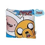 Adventure Time - Coussin Finn et Jake - 20x20cm - Jaune, bleu