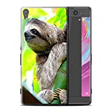 Stuff4 Coque de Coque pour Sony Xperia XA Ultra/F3212/F3216 / Bradype Design/Animaux Sauvages Collection