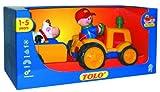 Tolo - 89746 - Le tracteur et sa remorque avec ...