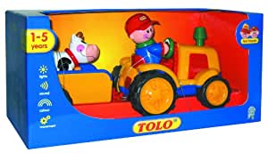 Tolo First Friends Tractor/Trailer & Cow