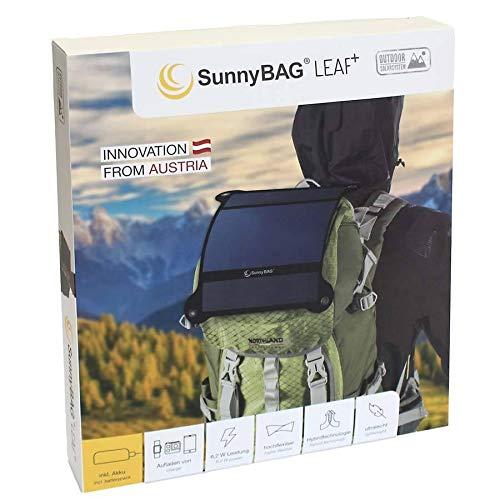 SunnyBAG Leaf+ – Premium Outdoor Solar Ladegerät - 7