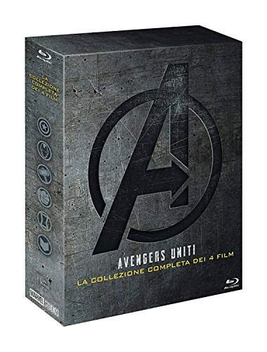Avengers 1 2 3 4 e Disco Bonus