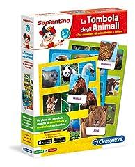 Idea Regalo - Clementoni 12690 - La Tombola Degli Animali
