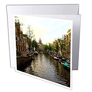 3d Rose GC 38331 _ 1 Réglage du soleil sur l'Unique des bâtiments d'Amsterdam - Cartes de vœux, 15,2 x 15,2 cm, Lot de 6 (B07B479249) | Amazon price tracker / tracking, Amazon price history charts, Amazon price watches, Amazon price drop alerts