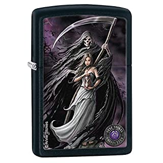 Zippo 60.000.448 Feuerzeug Anne Stokes Collection 3, schwarz matt