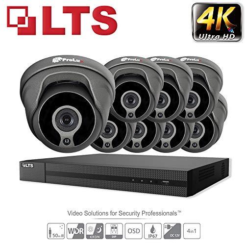 HIKVISION 5 MP CCTV Sicherheit System 5 x LTS Kameras cmht1352 N-28 4 K Auflösung ds-7208huhi/K1 DVR Kein HDD