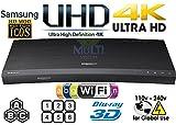 #4: Samsung UBD-K8500 4K Ultra HD 3D WiFi [ Region Free] Blu-Ray Disc Player | Dual HDMI | PAL/NTSC |100~240V 50/60Hz