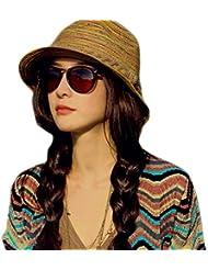 JUNGEN Verano la Retro Señoras Gorra Visera Tapa Señoras Sombrero Sombrero de playa