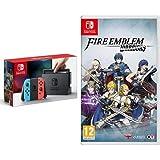 Nintendo Switch - Blu/Rosso Neon + Fire Emblem Warriors