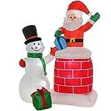 WeRChristmas Weihnachtsdekoration 150cm große beleuchteter