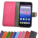 Mobistel Cynus E7 Smartphone / Slide Kleber Hülle Case Cover Schutz Cover Etui Handyhülle Schutzhülle YT in Pink-Hot