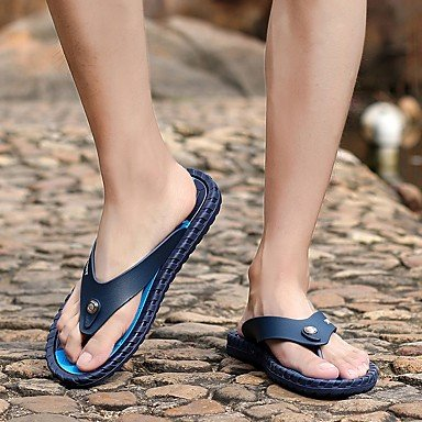 Altri Casual Pantofole & Primavera Estate Luce Suole PU Uomo Blu Rosso Arancione Sandali sandali US10.5 / EU43 / UK9.5 / CN45